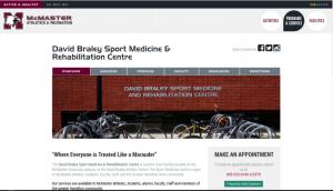 David Braley Sport Medicine Web Link