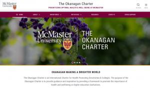 McMaster Okanagan Charter Web Link