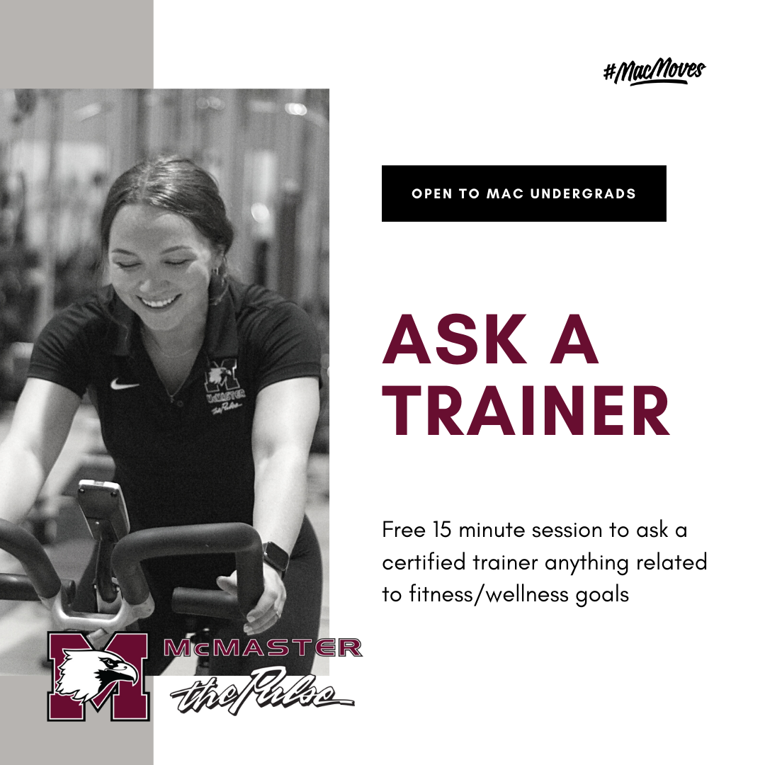 Ask a Trainer Graphic 2 - Free to all undegrads