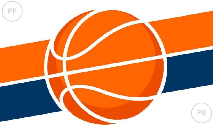 NBA Picks Basketball Graphic