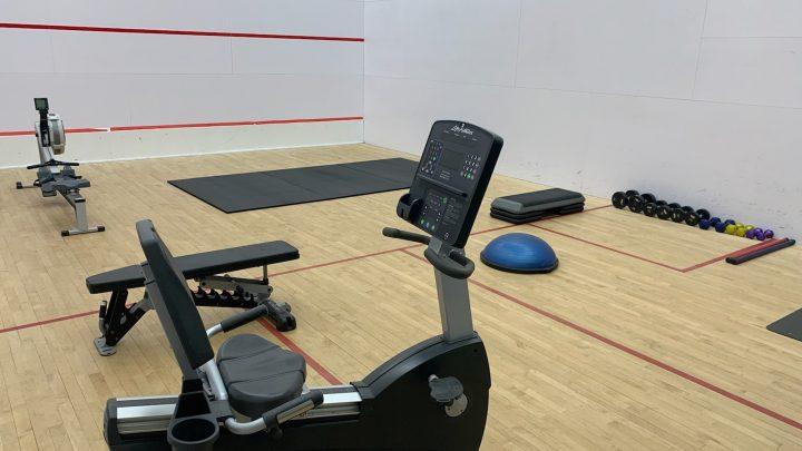 Squash Court Fitness Pod