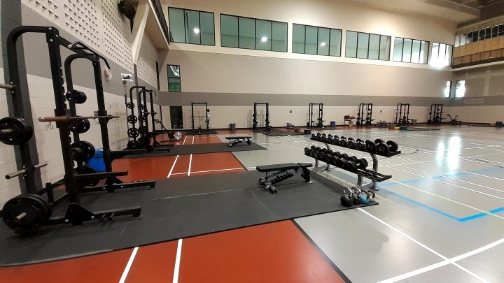 Sport Hall Fitness Pod